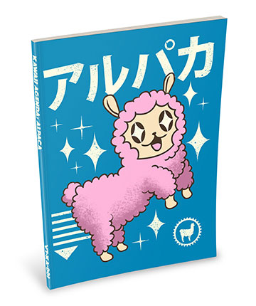 Kawaii Notebook: Alpaca