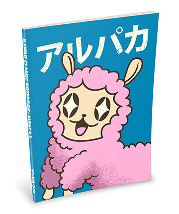 Kawaii Notebook: Alpaca 2