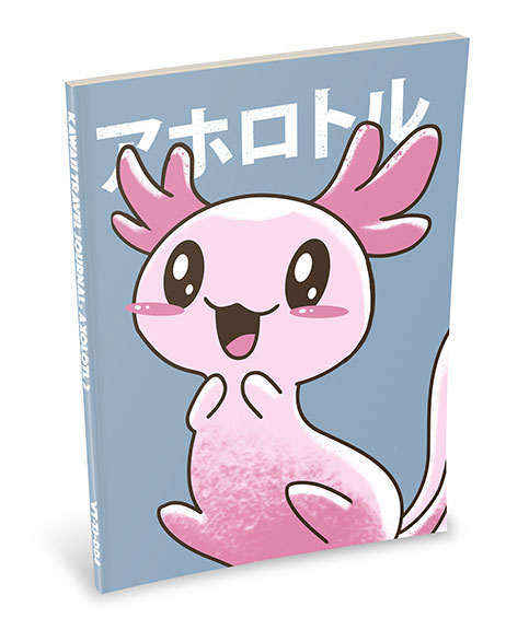 Kawaii Notebook: Axlotl 2
