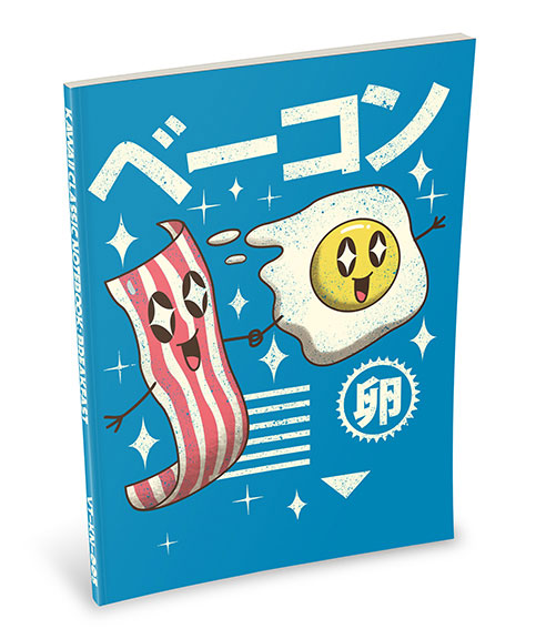 Kawaii Notebook: Breakfast