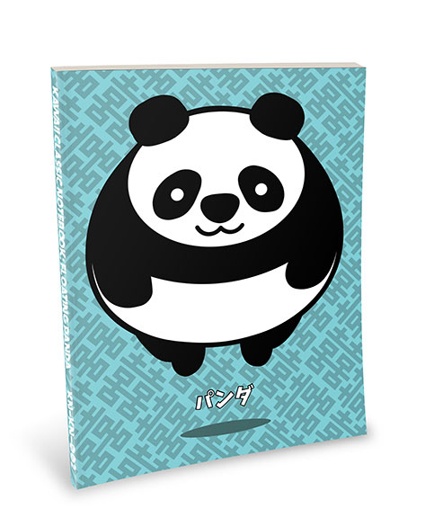 Kawaii Notebook: Floating Panda