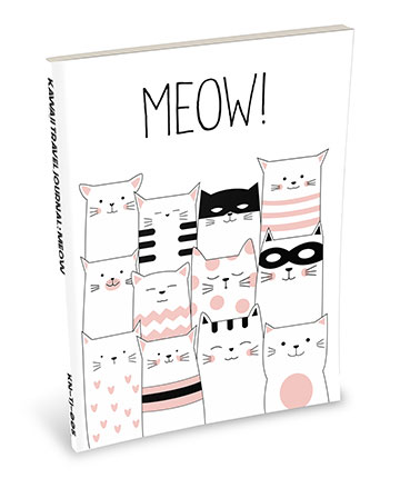 Kawaii Notebook: Meow