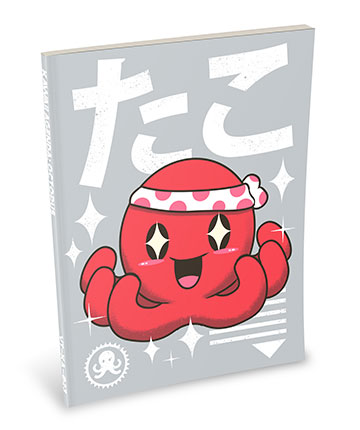 Kawaii Notebook: Octopus