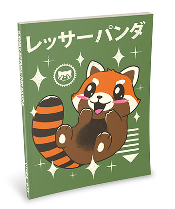 Kawaii Notebook: Red Panda
