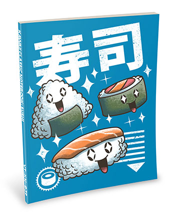 Kawaii Notebook: Sushi
