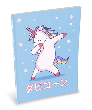 It's a Dabbing Kawaii Unicorn
