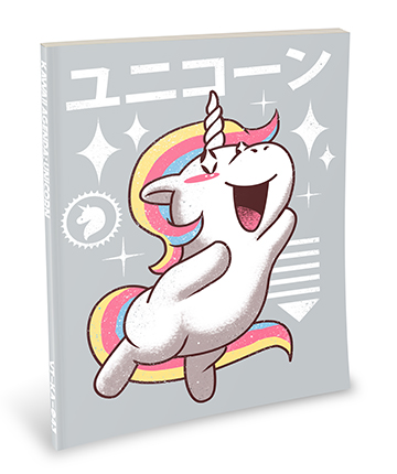 Kawaii Notebook: Unicorn